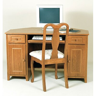 Passport Furniture Home Office Corner Computer Desk