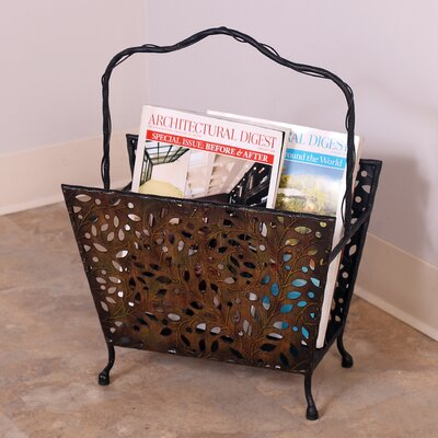 Passport Furniture Magazine Rack