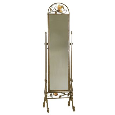 Passport Furniture Cheval Butterfly Mirror