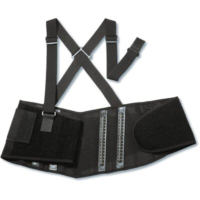 Ergodyne ProFlex 2000SF High-Performance Back Support in Black