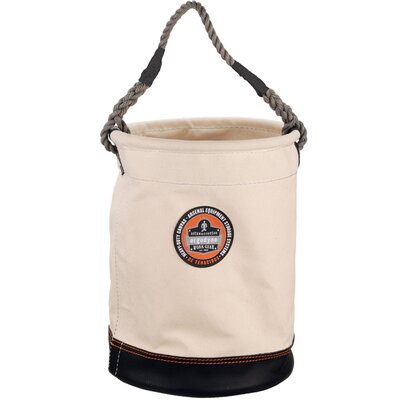 Ergodyne Arsenal Leather Bottom Bucket in White