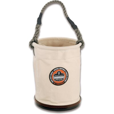 Ergodyne Arsenal Small Plastic Bottom Bucket in White