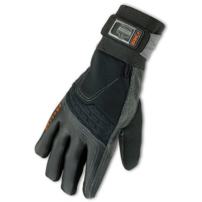 Ergodyne ProFlex 9012 Anti-Vibration Gloves in Black