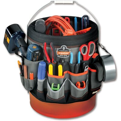 Ergodyne Arsenal 56-Pocket Bucket Organizer in Gray