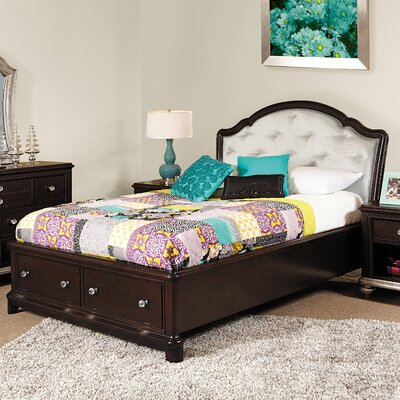 Girls' Glam Storage Bed
