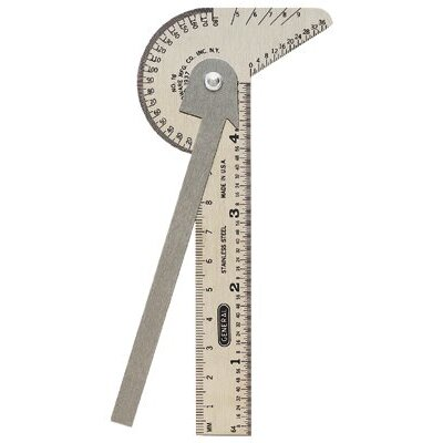 General Tools Multi-Use Rulers - multi-use rule & gagein mm & 64ths