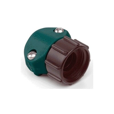 Gilmour Female Coupling Hose Mender in Green - 0.5 Inch