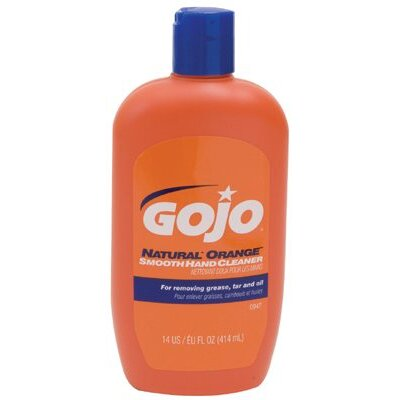 Gojo Lotion Hand Cleaners - 14-oz. natural orange hand cleaner lotion w/na