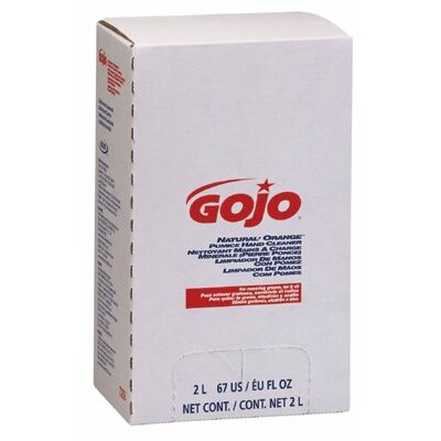 Gojo Hand Cleaners - 2000ml white natural orange hand cleaner w/f