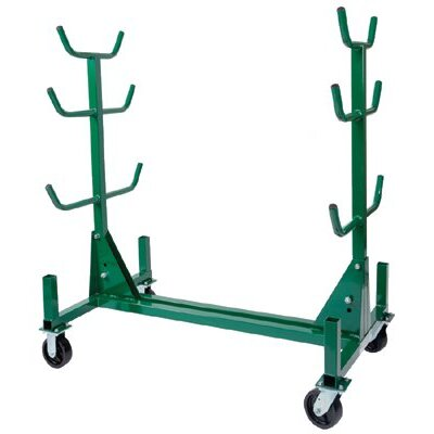 Greenlee Conduit and Pipe Storage Racks - mobile pipe rack