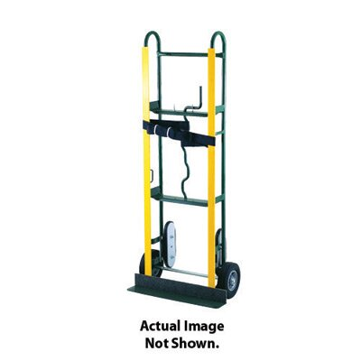 "Harper Trucks 65 Series Appliance Hand Truck With Belt Tightener And 6"" Mold-On Rubber Wheels"