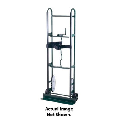"Harper Trucks 67 Series Appliance Hand Truck With Belt Tightener And 6"" Polyolefin Wheels"