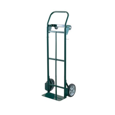 "Harper Trucks JDTP Series Commercial Quality Platform/Hand Truck With 8"" Zero Pressure Wheels And 3"" Soft Tread Hard Core Casters"