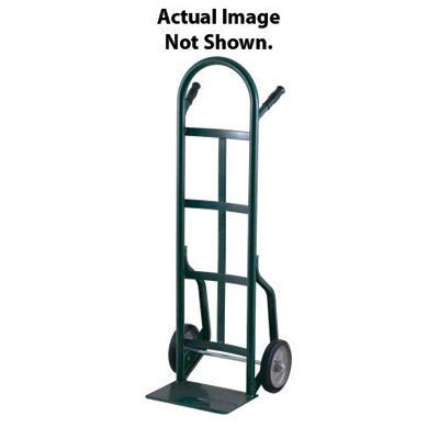 "Harper Trucks 40T Series Dual Handle Hand Truck With 10"" Pneumatic 2-Ply Wheels"