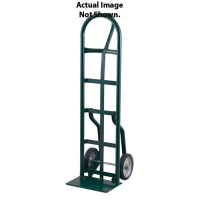 "Harper Trucks 56NT Series Narrow Frame Steel Hand Truck With 10"" Pneumatic 4-Ply Tire-Tube Wheels"