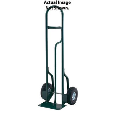 "Harper Trucks CTL Series Tall Steel Hand Truck With Single Loop Handle And 10"" Pneumatic 2-Ply Tubeless Wheels"