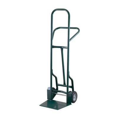 "Harper Trucks 32TT Series Taper Noz Base Industrial Hand Truck With 8"" Mold-On Balloon Rubber Wheels"