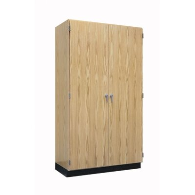 Diversified Woodcrafts Hinged Storage Case With Oak Doors