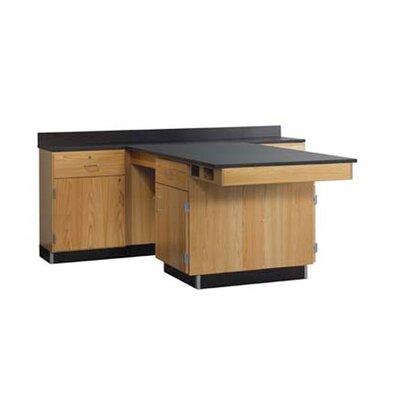 Diversified Woodcrafts Perimeter Workstation