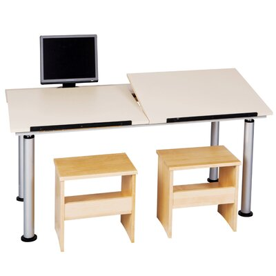 Diversified Woodcrafts ALTD-3 Adaptable Drawing Table