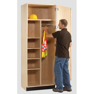Diversified Woodcrafts Wardrobe Storage Cabinet