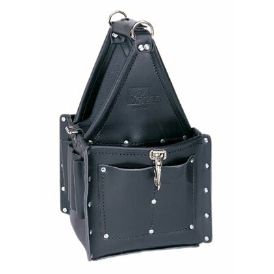 Ideal Industries Tuff-Tote™ Ultimate Tool Carriers - blk premium leather master electrician's tote