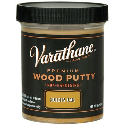Varathane 3.75 Oz Golden Oak Wood Putty 223253