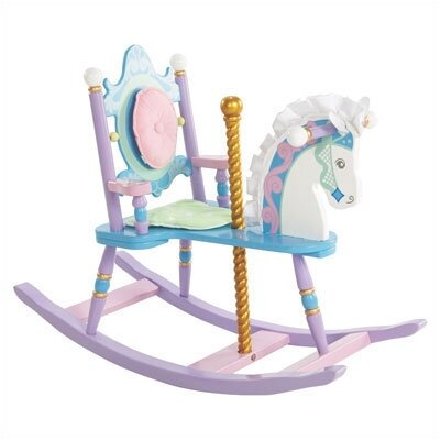Levels of Discovery Kiddie Ups Carousel Rocking Horse