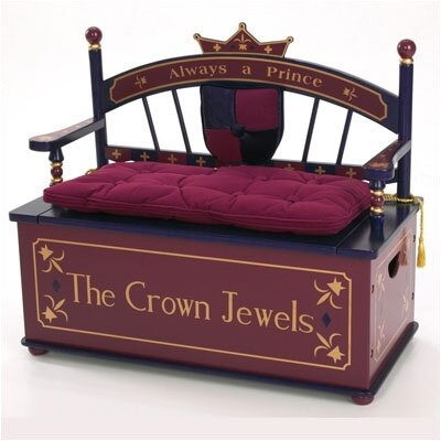 Prince Kid's Storage Bench
