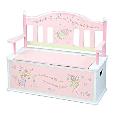 Levels of Discovery Fairy Wishes Kid's Storage Bench