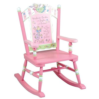 Levels of Discovery Fairy Wishes Kid's Rocking Chair
