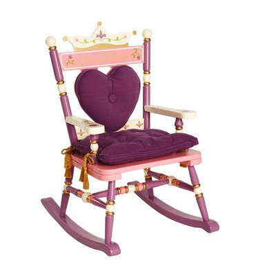 <strong>Levels of Discovery</strong> Princess Rock A Buddies Royal Kid's  Rocking Chair