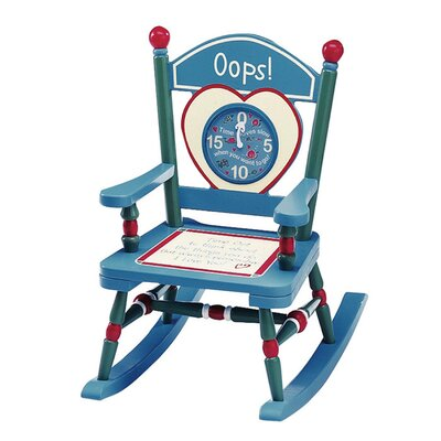Levels of Discovery Rock A BuddiesTime Out Mini Kid Rocking Chair
