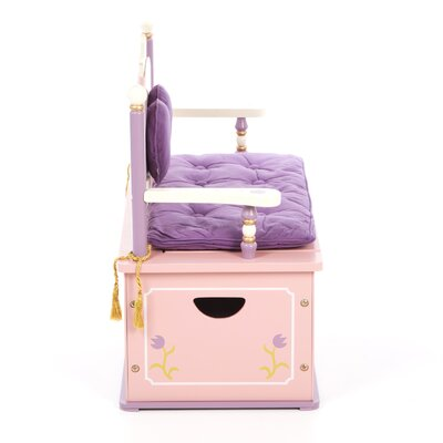 Levels of Discovery Princess Kid's Storage Bench