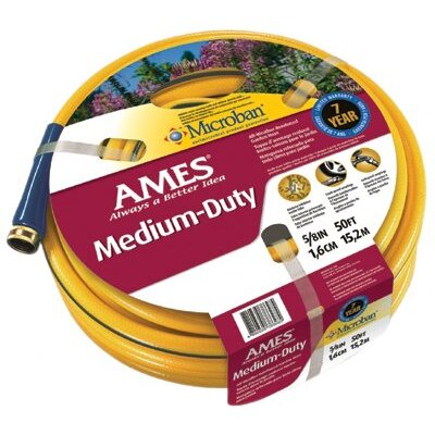 "Jackson Professional Tools All Weather Garden Hoses - 5/8"" x 50' yellow all weather hose crushproof cp"