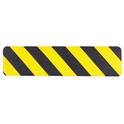 "Jessup Safety Track® 3300 Commercial Grade Tapes & Treads - safety track 2""x60' yellow/black poly anti skid"