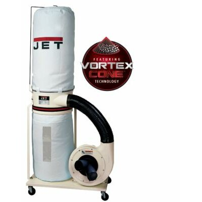 Jet Dust Collector Base Machine with Vortex Cone