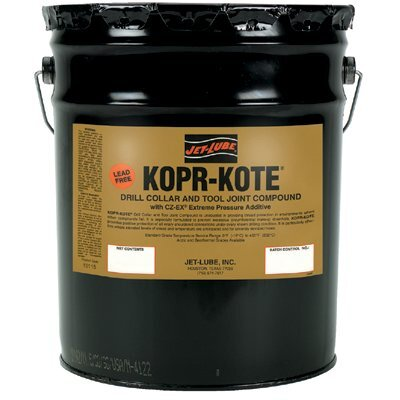Jet-Lube Kopr-Kote® Tool Joint & Drill Collar Compounds - kopr-kote 5-gal lead-free anti-seize