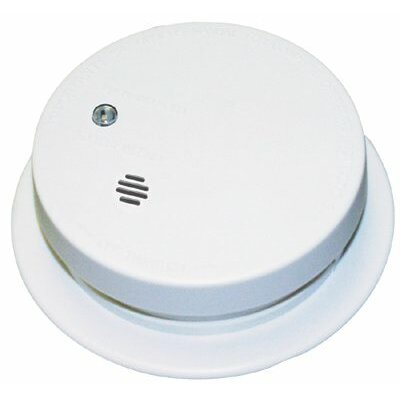 Kidde Kidde - Battery Operated Smoke Alarms Battery Operated Smoke Detector W/Exit Light: 408-0915E - battery operated smoke detector w/exit light