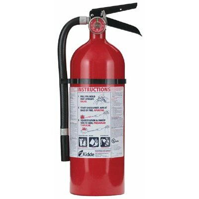 Kidde Kidde - Pro Series Fire Extinguishers 4Lb Abc Pro210 Fire Extinguisher: 408-21005779 - 4lb abc pro210 fire extinguisher