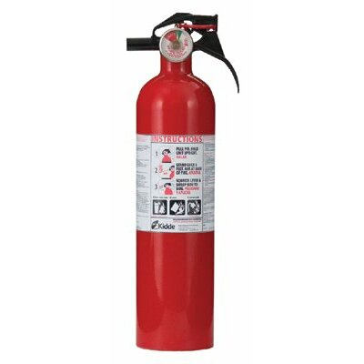 Kidde Kidde - Full Home Fire Extinguishers 2.5Lb Abc Home Fire Extinguisher: 408-466142 - 2.5lb abc home fire extinguisher