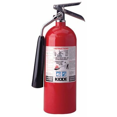 Kidde Kidde - Proline Carbon Dioxide Fire Extinguishers - Bc Type 10Lb. Pro 10 Cdm Carbondioxide Fire Exting: 408-466181 - 10lb. pro 10 cdm carbondioxide fire exting