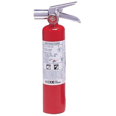 Kidde Kidde - Halotron I Fire Extinguishers 2.5Lb Fire Extinguishr: 408-466727 - 2.5lb fire extinguishr
