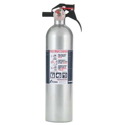 Kidde Automobile Fire Extinguishers - fire ext. 2 lb auto dispur rating 5-b:c