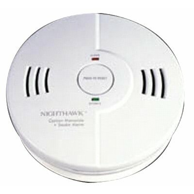 Kidde Combination Carbon Monoxide & Smoke Alarm - smoke and carbon combination detector 3aa batter