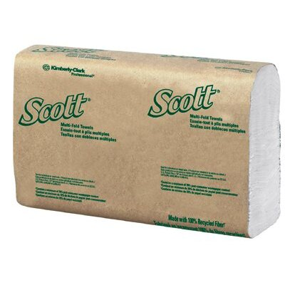 Kimberly-Clark Kimberly-Clark Professional - Scott Towels Scott 100% Rf C-Fold Hand Towels Case/12: 412-02920 - scott 100% rf c-fold hand towels case/12