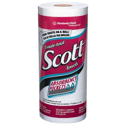 "Kimberly-Clark Kimberly-Clark Professional - Scott Kitchen Roll Towels White 11X8.78"" Scott Kitchen Roll 128 Sheets: 412-41482 - white 11x8.78"" scott kitchen roll 128 sheets"