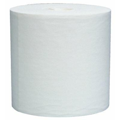 "Kimberly-Clark WypAll® L40 Wipers - 12""x13.4"" white wypall jumbo rag on a roll 700/"