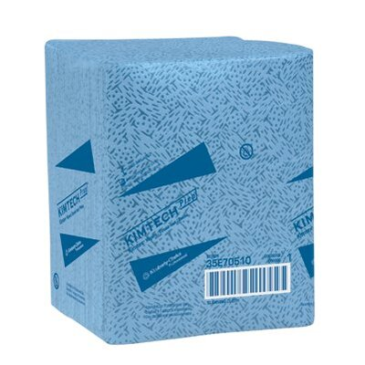 Kimberly-Clark Kimtech Prep® Kimtex® Wipers - kimtex right rag 1/2 fold shop towel 66/box