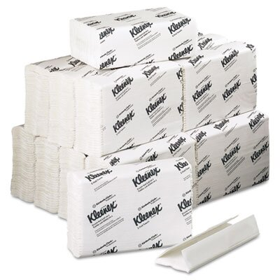 Kimberly-Clark Professional* Kleenex C-Fold Paper Towels, 150/Pack, 16/Carton